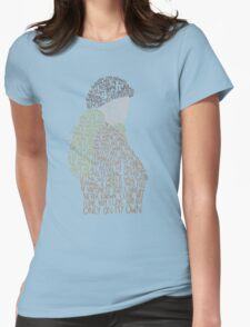 Les Miserables- On My Own Womens Fitted T-Shirt