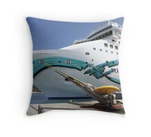 ...a comfortable way of vacations ..... Throw Pillow