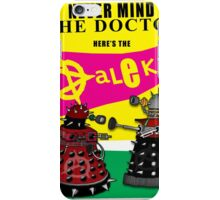 The Punk Daleks  iPhone Case/Skin