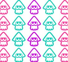 Splatoon squids pattern Sticker