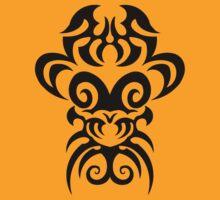 maori tattoo tribal design graphic by huggymauve