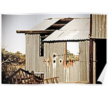 Shed - Copper Hills, South Australia Poster