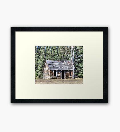 The Preachers Cabin Framed Print
