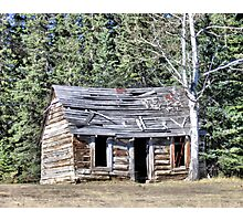 The Preachers Cabin Photographic Print