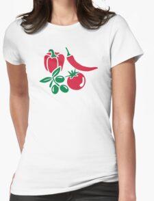 Vegetables tomato olive bell pepper chili T-Shirt