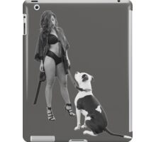 Hot Dog Walk Brighter v22 Glow iPad Case/Skin