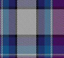 00486 Hebridean Arisaid Blue Dance Tartan  by Detnecs2013
