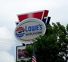 Lowes Motor Speedway by Sanguine
