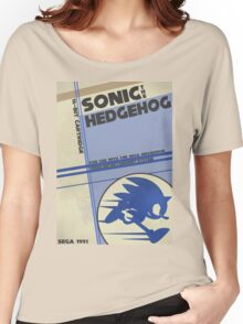 Megadrive - Sonic the Hedgehog Women's Relaxed Fit T-Shirt