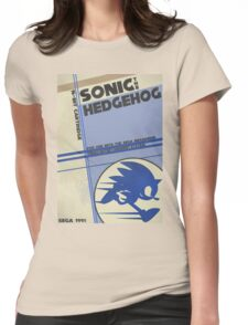 Megadrive - Sonic the Hedgehog Womens Fitted T-Shirt