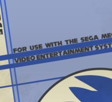 Megadrive - Sonic the Hedgehog Sticker