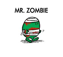 MR. ZOMBIE Photographic Print
