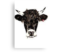swiss-cow Canvas Print