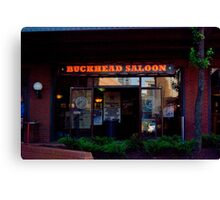 Buckhead Saloon Canvas Print