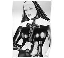 fetish nun Poster