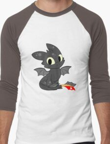 Little Dragon Men's Baseball ¾ T-Shirt