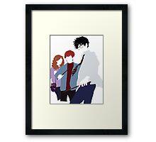 Harry Potter Minimalism Framed Print