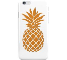 Orange Pineapple iPhone Case/Skin