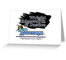 Ace Attorneys Greeting Card