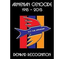 Armenian Genocide 100 Year Anniversary Peace Dove Photographic Print
