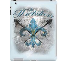 The Musketeers Grunge Style Logo iPad Case/Skin