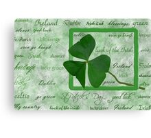 Irish Heritage Canvas Print