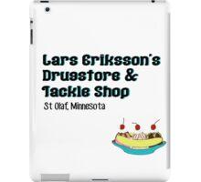 Lars Erikkson's Drug Store & Tackle Shop iPad Case/Skin