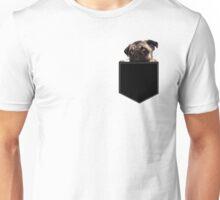 Pug Pocket Unisex T-Shirt