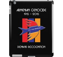 Armenian Genocide 100 Year Anniversary Peace Dove iPad Case/Skin
