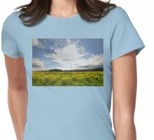 Looking at the Big Sky Womens Fitted T-Shirt