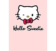 Hello Sweetie Photographic Print