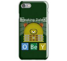 Breaking Dalek iPhone Case/Skin