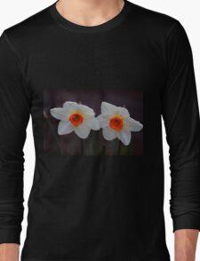 White Daffodils  Long Sleeve T-Shirt