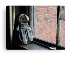 Old Dolly, Loved and Worn Canvas Print