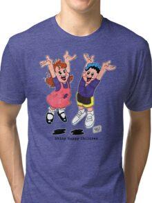 Shiny Happy Children Tri-blend T-Shirt
