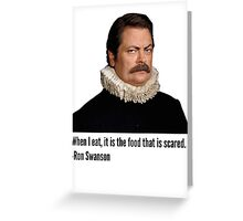 Ron Quotes Greeting Card