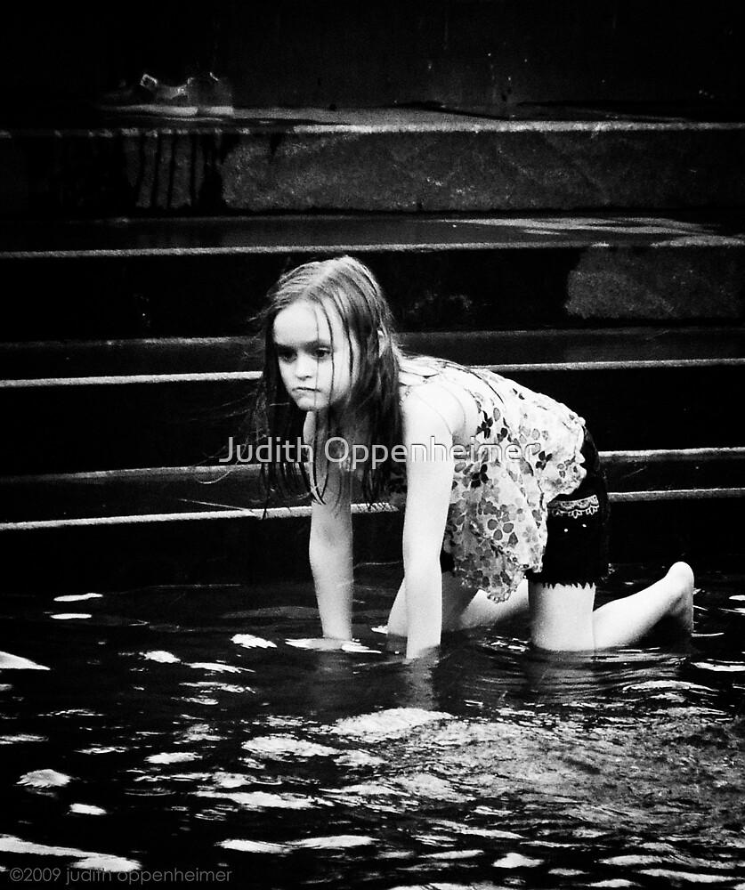 Girl in Fountain by Judith Oppenheimer