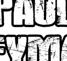 Paul Heyman Guy Sticker