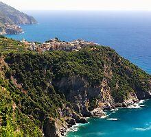Corniglia of Cinque Terre by George Oze