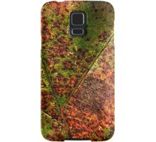 Autumn Leaf Detail Samsung Galaxy Case/Skin
