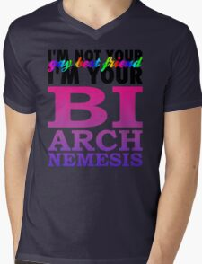 Bisexual Arch Nemesis Mens V-Neck T-Shirt