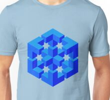 Abstract Cube Unisex T-Shirt