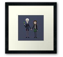 Twelfth & Clara (Burton Style) Framed Print