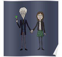 Twelfth & Clara (Burton Style) Poster