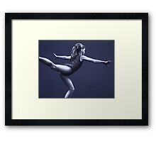 Scale Pose  Framed Print