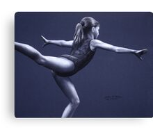 Scale Pose  Canvas Print