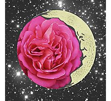 Flower Moon Friend Photographic Print