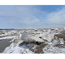 Nature's Ice Sculptures Photographic Print