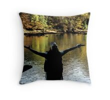 GLORIFY  (read story inside) Throw Pillow