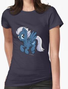 Night Glider Womens Fitted T-Shirt